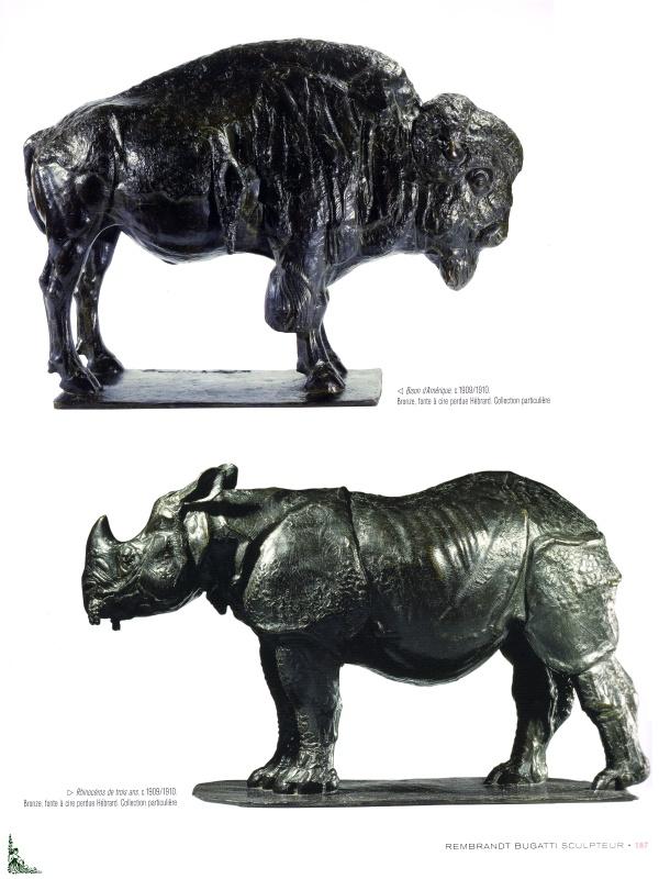 REMBRANDT BUGATTI Sculptor Repertoire monographique English edition